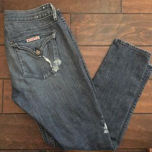 HUDSON Krista Ankle Super Skinny Jeans Womens 29